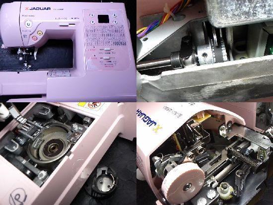 ジャガーCD-2205MPのミシン修理