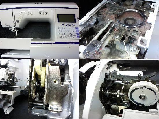 ブラザーコンパル900のミシン修理