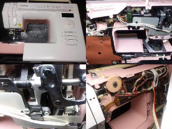 ブラザーコンパルUのミシン修理