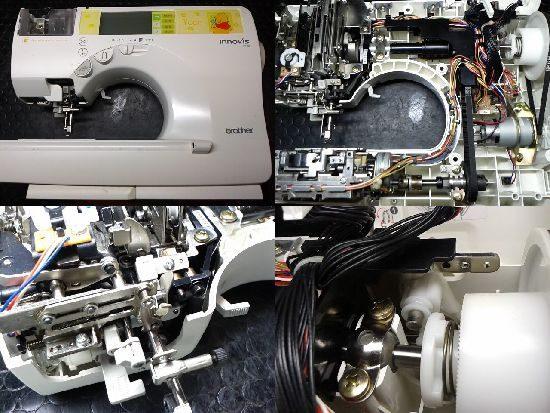 ブラザーイノヴィスP100のミシン修理