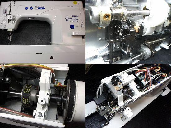 ベビーロックEP9500Nのミシン修理