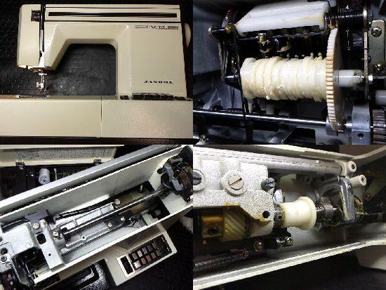 ジャノメエクセル625のミシン修理