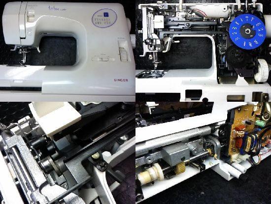 シンガーフィットライン6200のミシン修理
