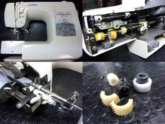 JUKIリーザ50Zのミシン修理