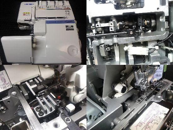 JUKI MO-345DCのミシン修理