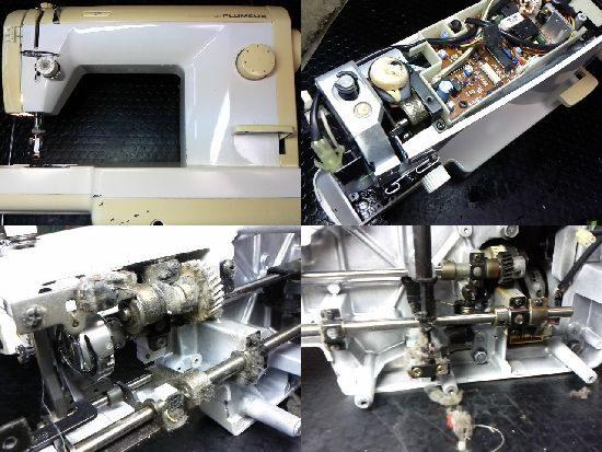 シンガー103sfのミシン修理