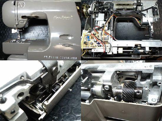 シンガーQt-9820EXのミシン修理