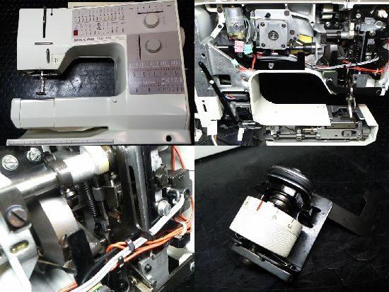 ベルニナ製リッカーRCM1230のミシン修理