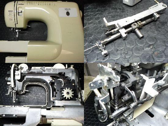 ブラザーZZ3-B541のミシン修理