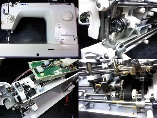 JUKIシュプール30のミシン修理