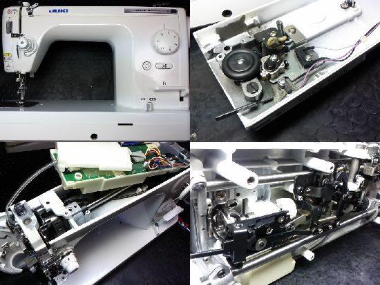 JUKIシュプール30DXのミシン修理