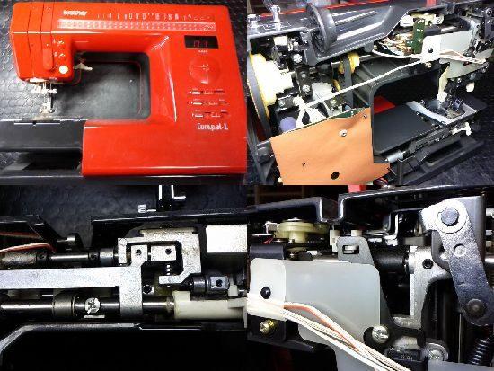 ブラザーコンパルLのミシン修理