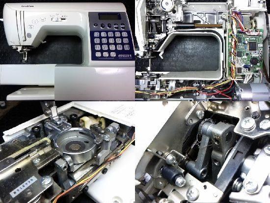 ブラザーCPS72のミシン修理
