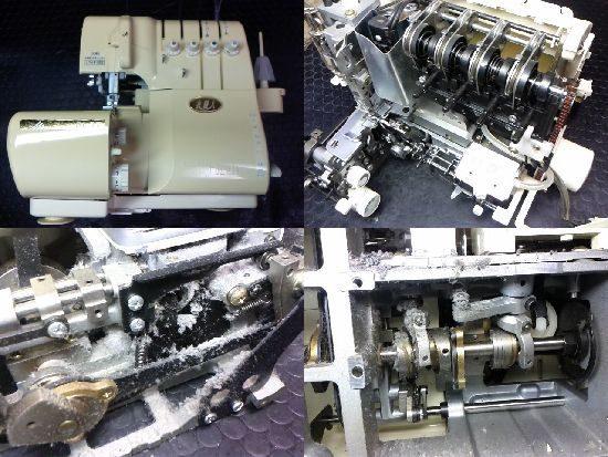 衣縫人BL57のミシン修理