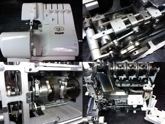 ベビーロック衣縫人BL5700EXSのミシン修理