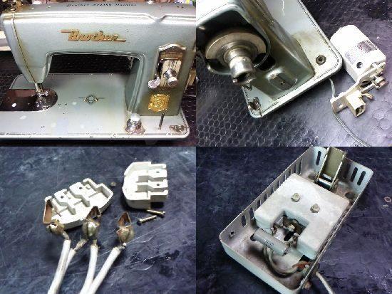 ブラザーミシン修理