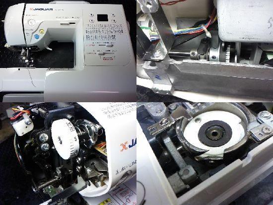 ジャガーCD-2203Wのミシン修理