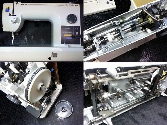 ベビーロックコンパニオン5300のミシン修理