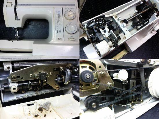 ジャノメエクセル18DXのミシン修理