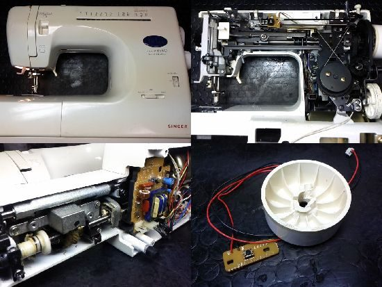 シンガーフィットライン6580のミシン修理