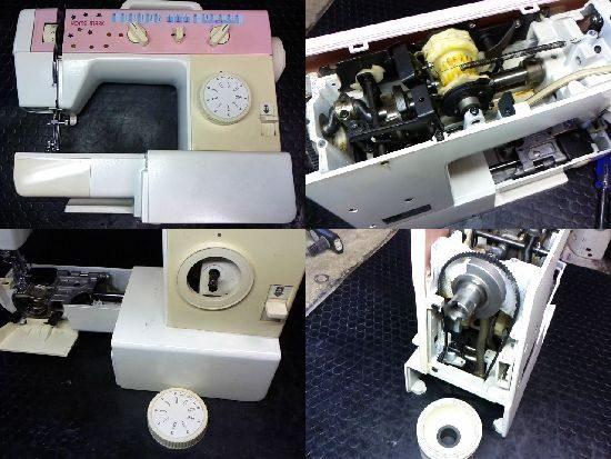ブラザーZ-40451のミシン修理