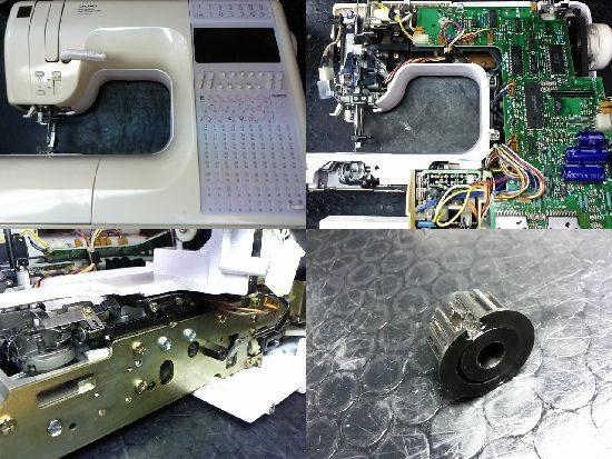 JUKI HZL-9900のミシン修理