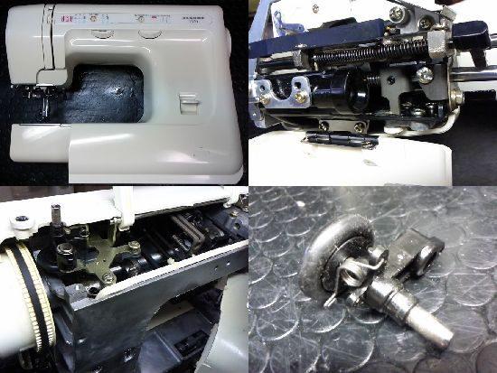 ジャノメ1300のミシン修理