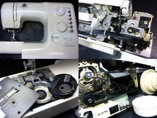 ジャノメ3755のミシン修理