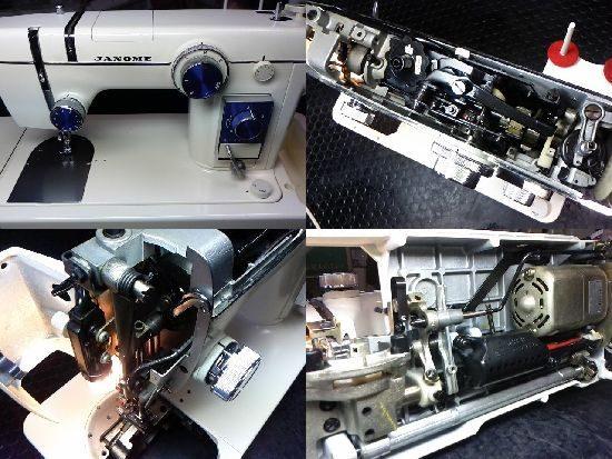 トピア804のミシン修理