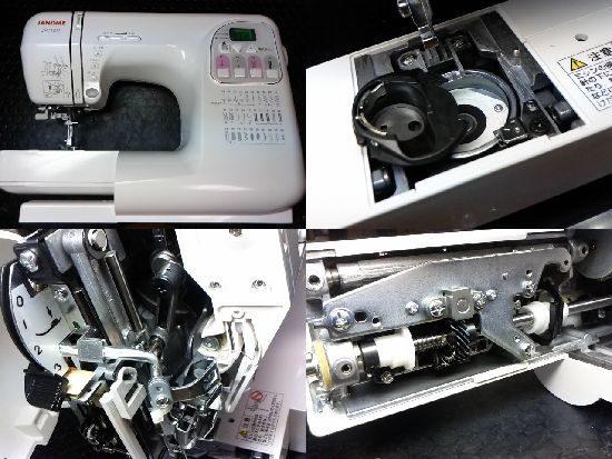 ジャノメJP710Nのミシン修理