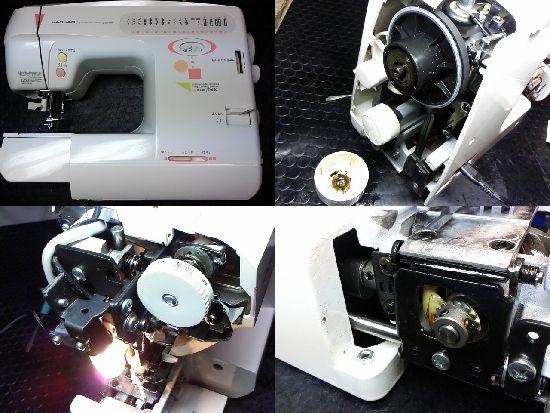 ジャガーJS-660のミシン修理