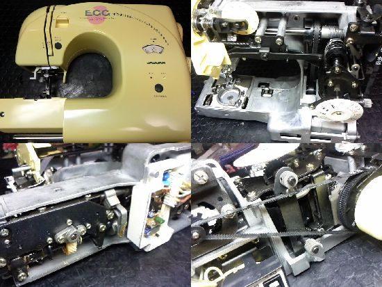 ジャガーKB-1200Yのミシン修理