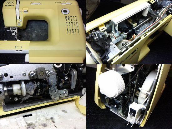 ジャノメクライムキKM2010のミシン修理