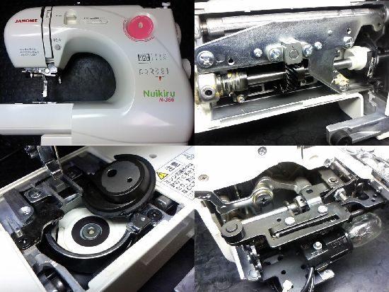 ジャノメヌイキルN-366のミシン修理
