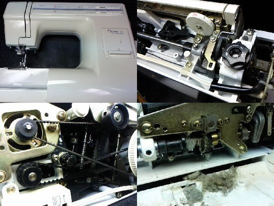 ジャノメプレール18のミシン修理