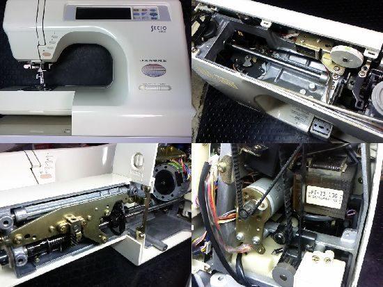 ジャノメセシオ8600のミシン修理