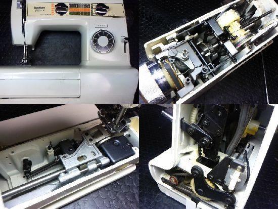 ブラザーセレクトFのミシン修理