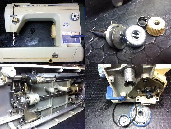 ブラザーTA3-B626のミシン修理