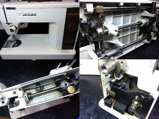 ジャガーベルベットMT303のミシン修理
