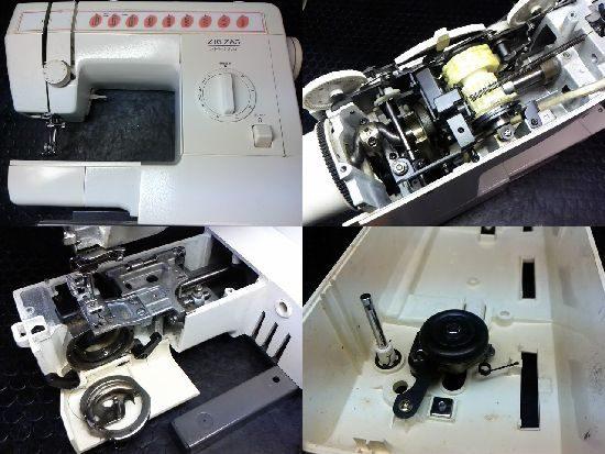 ブラザージグザグスペシャルのミシン修理