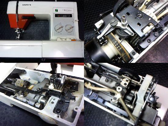 ブラザーコンパルデラックスのミシン修理