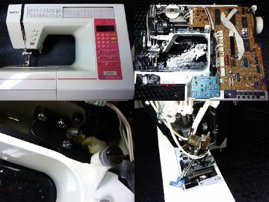 ブラザーコンパルアルファ2のミシン修理