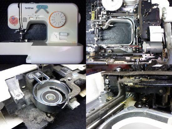 ブラザーEL115のミシン修理