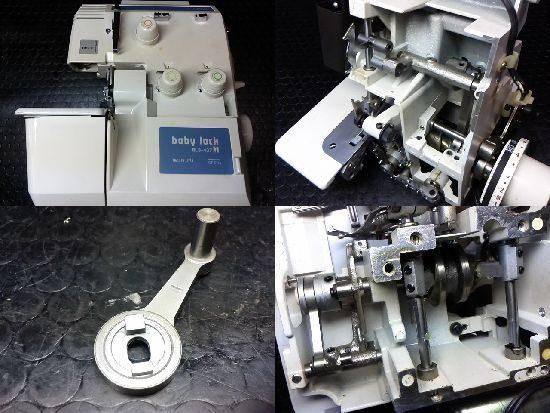 ベビーロックBL3-437Mのミシン修理