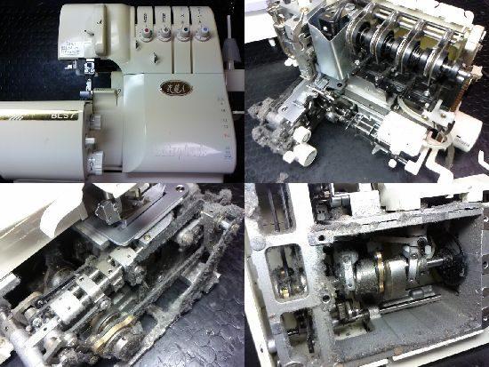 衣縫人BL57ミシン修理