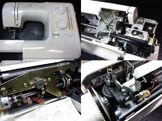 ジャノメクラウンレディ5004のミシン修理