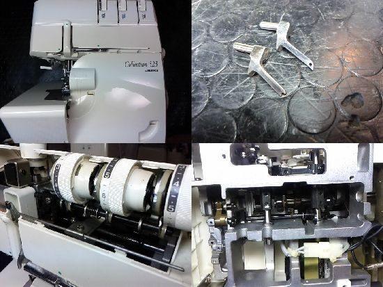 JUKIコレクション323のミシン修理