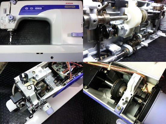 ジャノメコスチューラ767DBのミシン修理