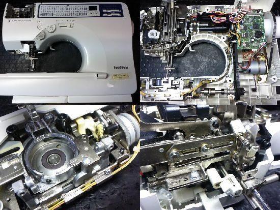 ブラザーCPS05のミシン修理