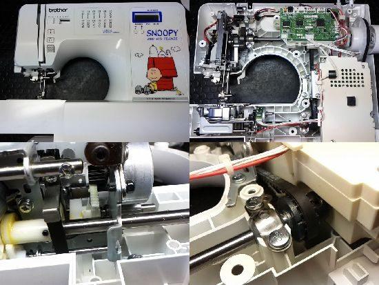 ブラザーセンシア100SNのミシン修理